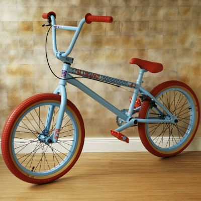 BMX blau