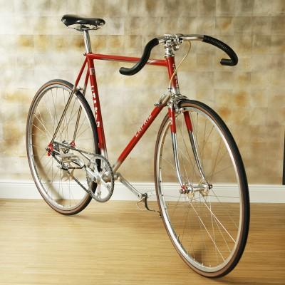 Bahnrad rot 1