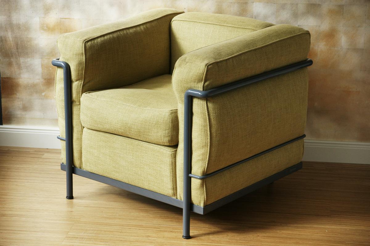 le corbusier lc 2 klassiker co. Black Bedroom Furniture Sets. Home Design Ideas