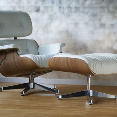 Eames Launge Chair weiß V