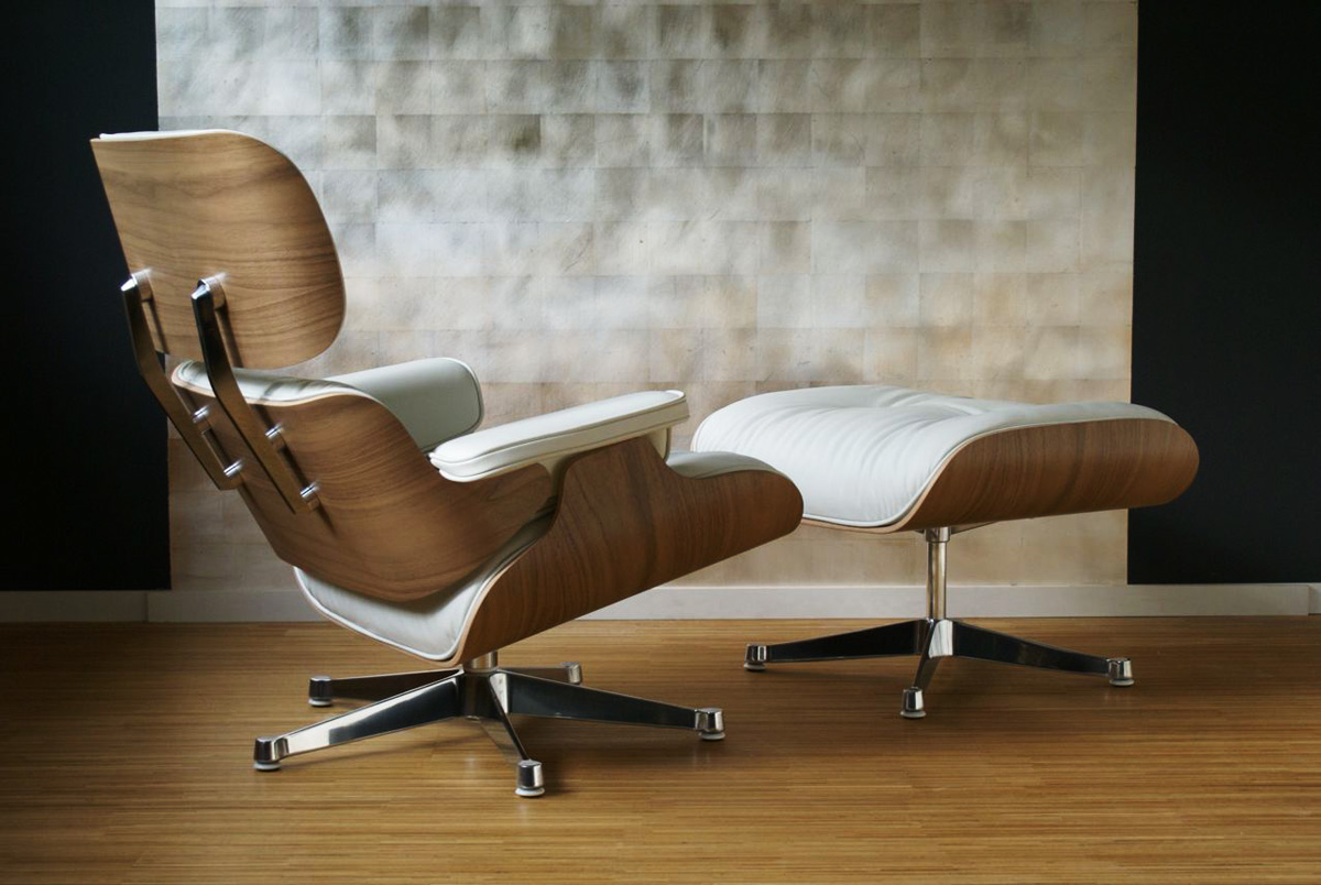 Eames Lounge Chair Weiß H Great Pictures