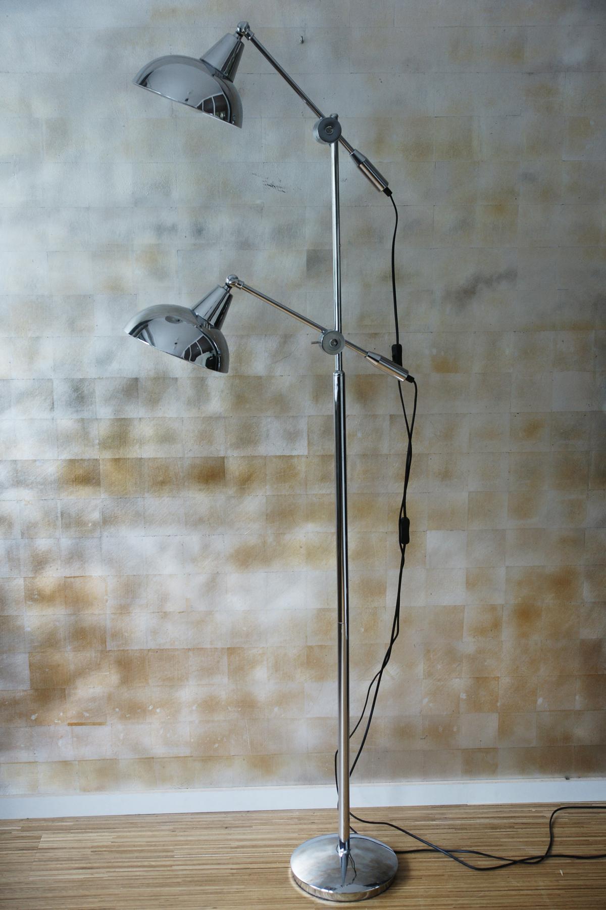 Stehlampe Chrom Stehlampe Landhausstil