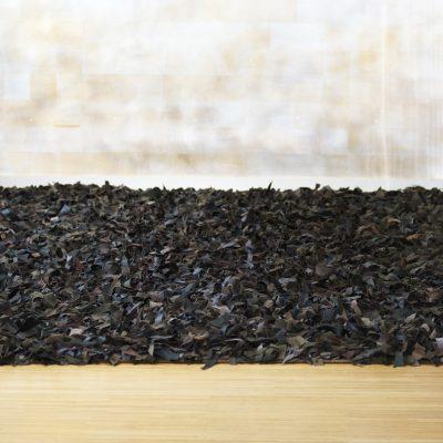 Lederfransen Teppich
