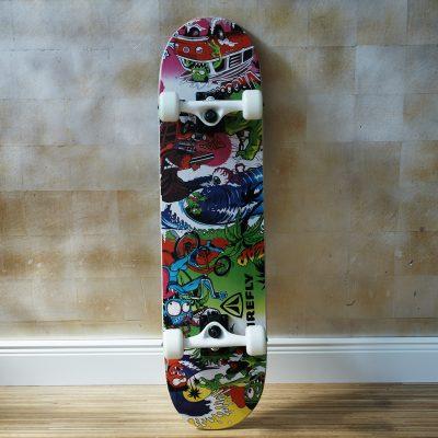 Skateboard bunt