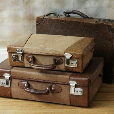 alte Koffer klein 3er
