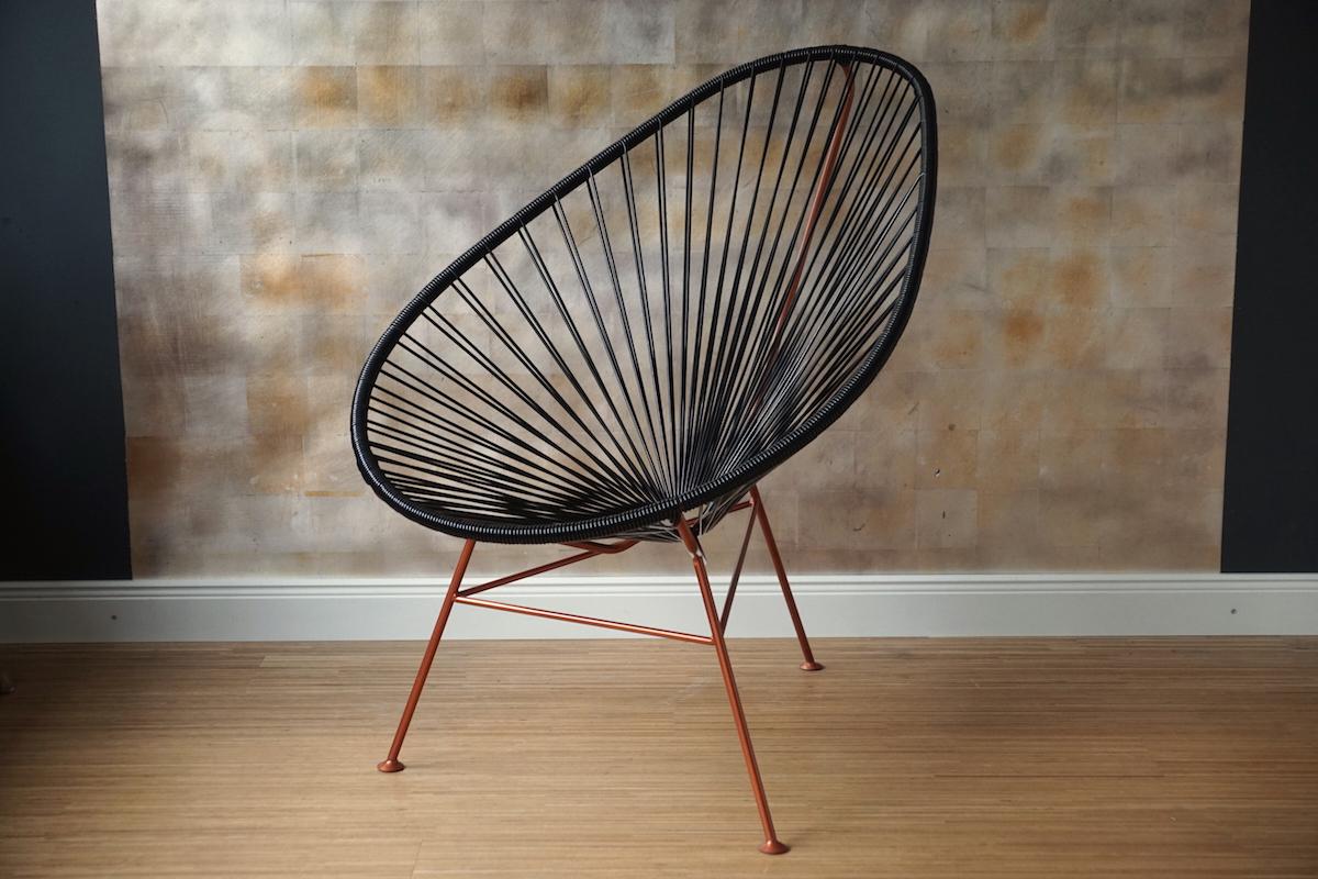 acapulco spaghettistuhl schwarz gartenstuhl klassiker co. Black Bedroom Furniture Sets. Home Design Ideas
