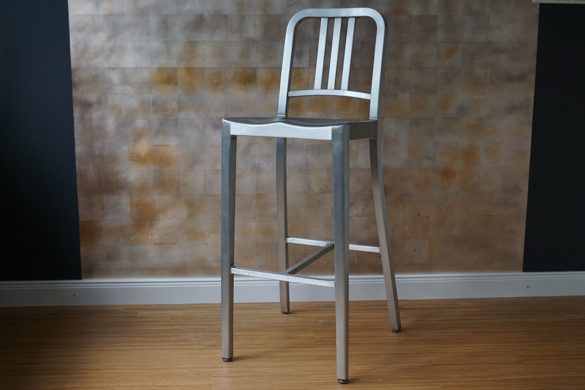 Barhocker Navy Chair Aluminium Klassiker Co